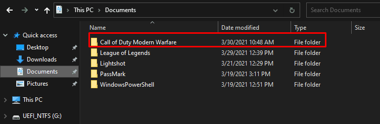 How to access the configuration files in Warzone