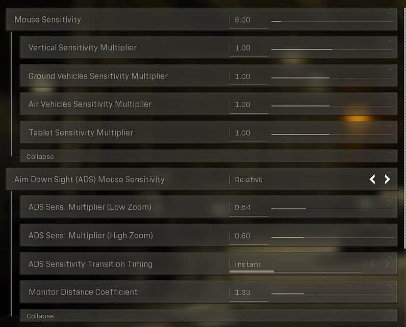 Best Warzone mouse settings & Keybinds based on Symfuhny Warzone Settings