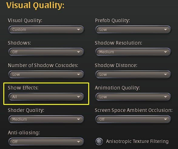 Best Graphics settings for Albion Online part 2.
