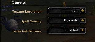 Best WoW(World of Warcraft): Shadowlands graphics general tab settings