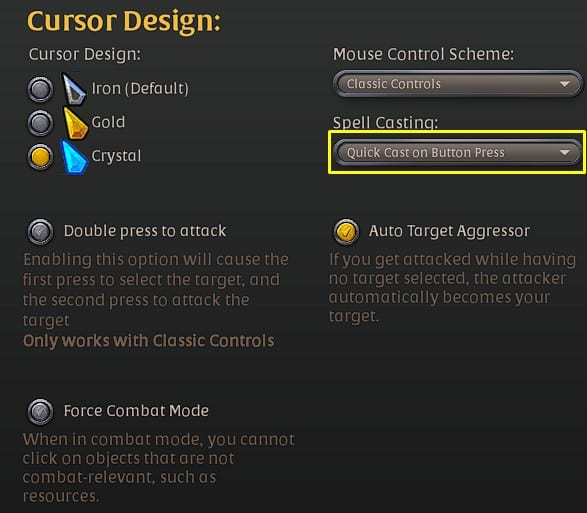 Best Albion Online control settings