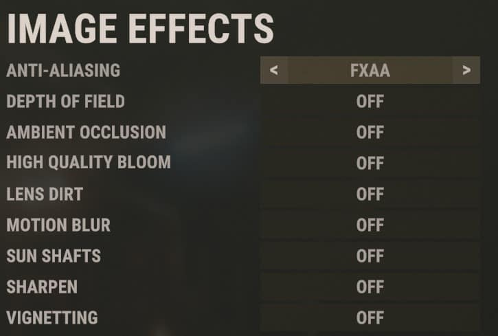 Best Rust Image effects settings