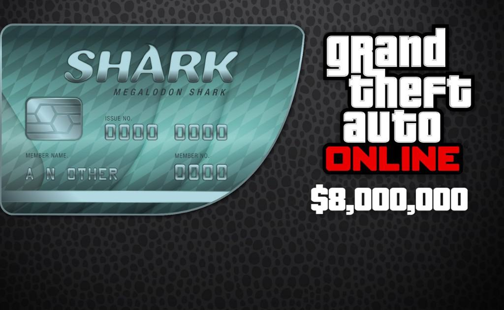 GTA V shark card example