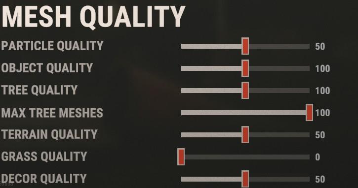 Best Rust Mesh Quality settings
