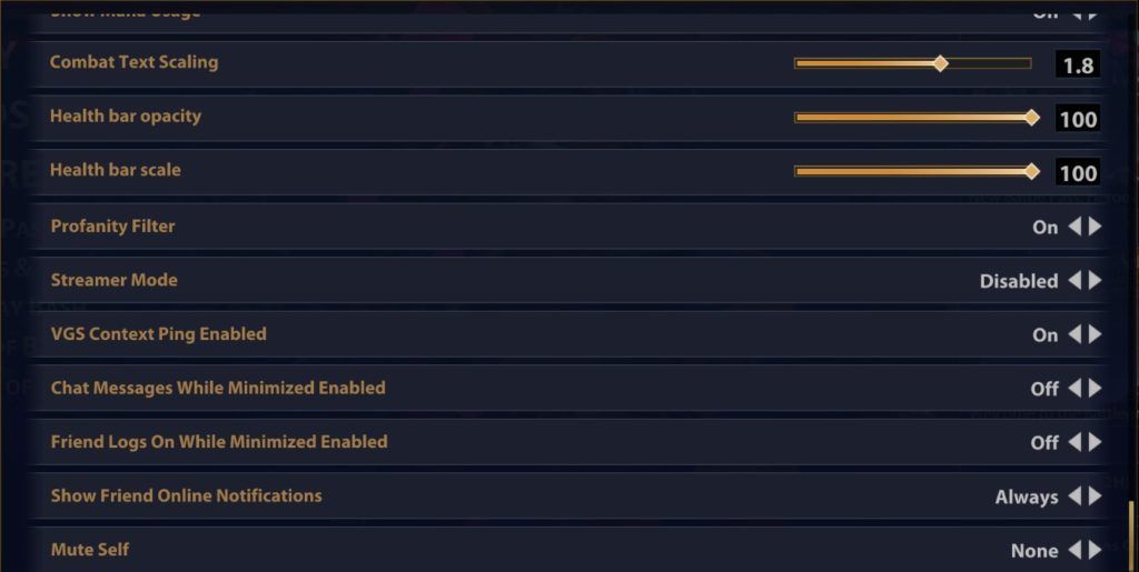 Best Interface Smite settings part 2