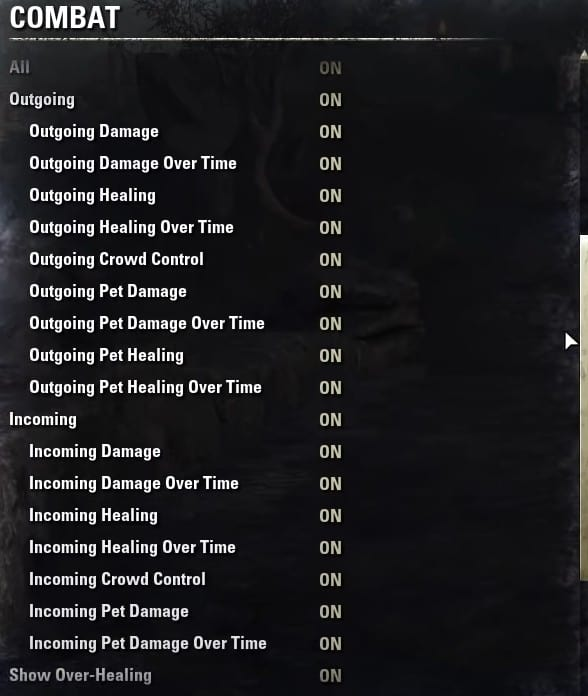 Best ESO Combat Settings for PC and Console(PART 2)