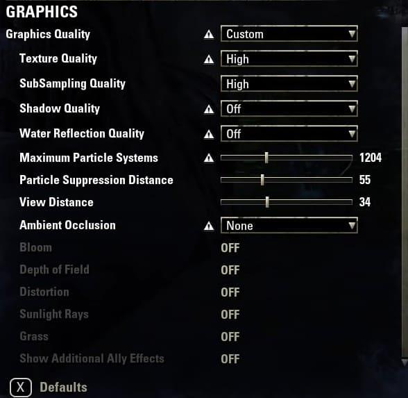 Best Elder Scrolls Online(Eso) graphics & video settings. (Part 2)