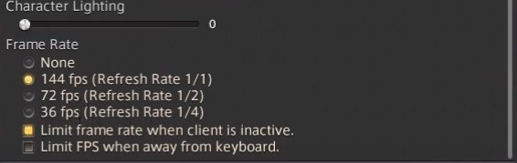 Best FFXIV Display Settings, which are mentioned above. (Part 2)