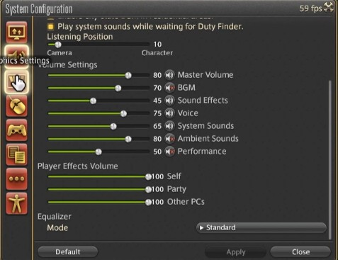 Best FFXIV Sound Settings, which are mentioned above. (Part 2)