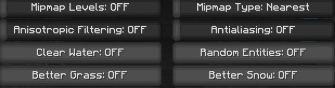 Best Minecraft Quality settings