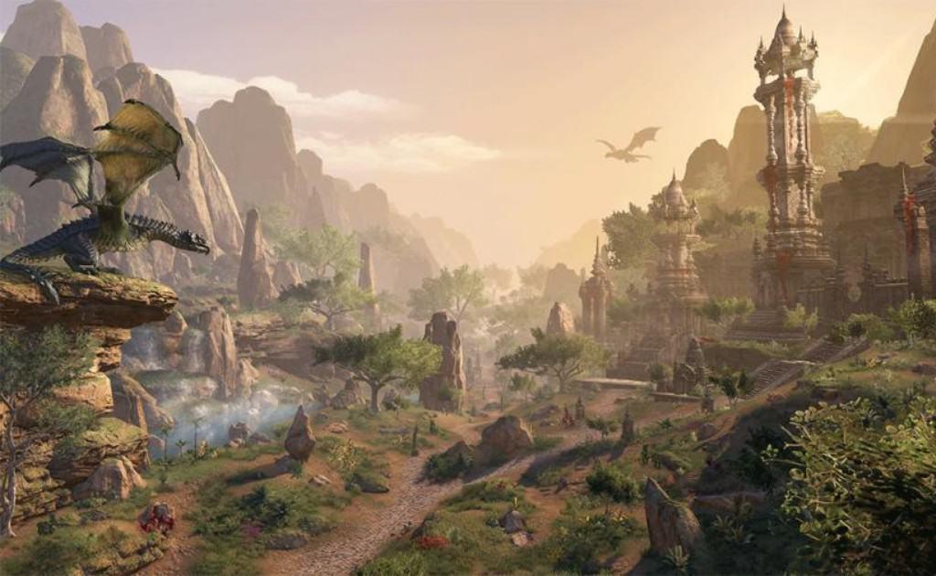Beautiful scenery from ELder scrolls online