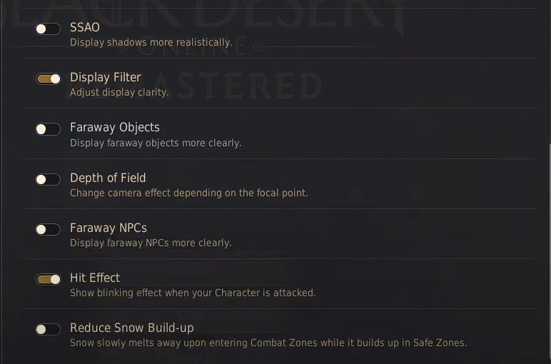 Black Desert Online(BDO) Best Graphics & Textures settings (Part 2)
