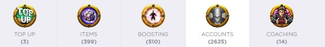 Clash of Clans(COC) Accounts, items, top-ups, boosting & coaching services available on G2G.