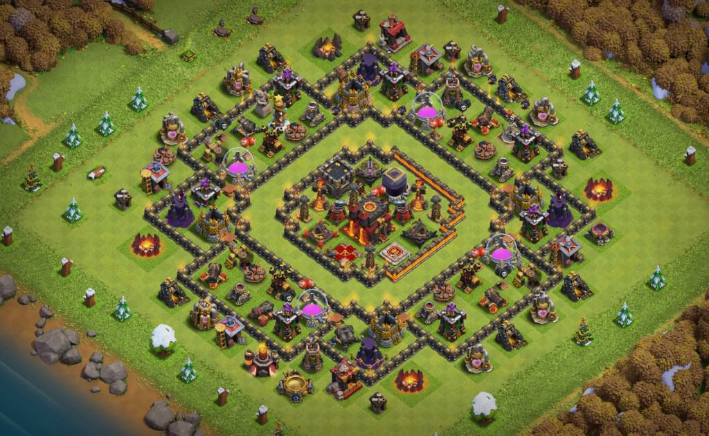 Clash of Clans high level account