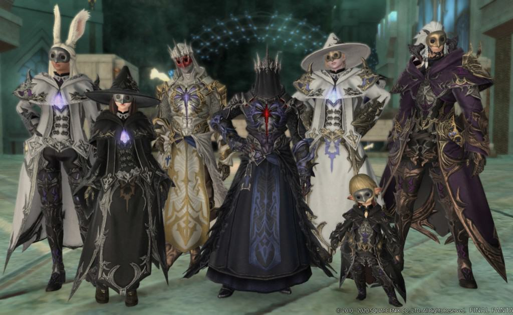 FFXIV Characters in-game