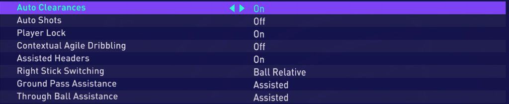 Best Fifa 21 Controller Settings(part 2)that are described above.