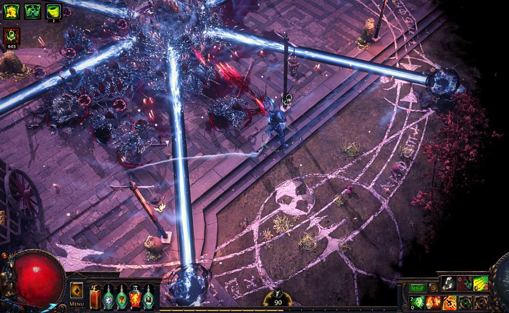 Path of Exile(PoE) Fighting