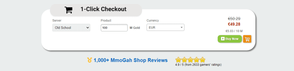 Runescape gold for sale, complete review on the best, cheapest and safest place to buy Old Runescape(OSRS) gold.