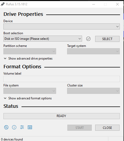 How to create a bootable Windows 10 usb drive with Rufus