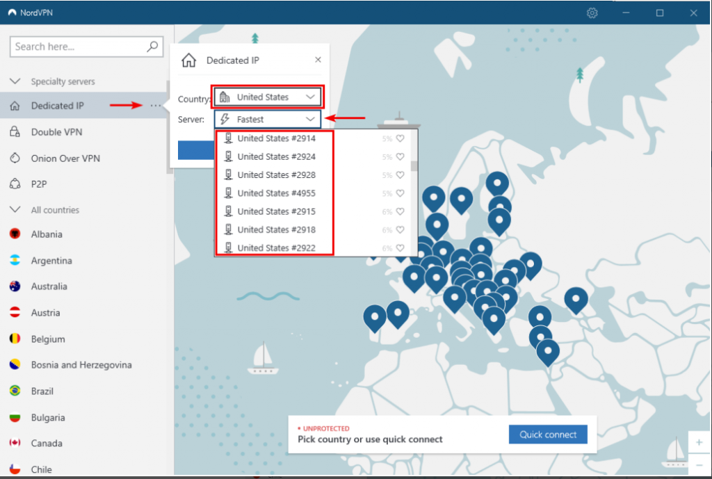 NordVPN dedicated IP setup to hide our IP address to avoid and bypass Roblox IP Ban