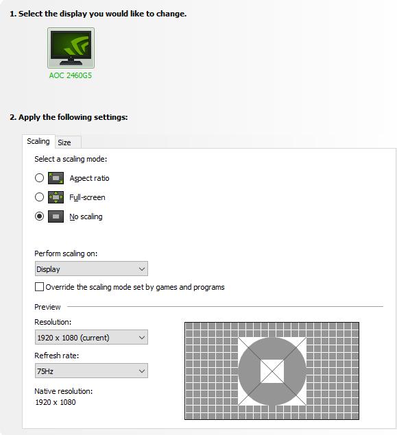 Best NVidia control panel settings for Windows 11.(4)