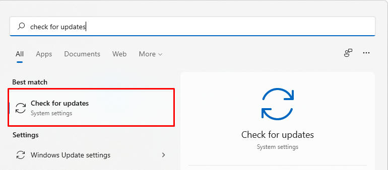How to update Windows 11.