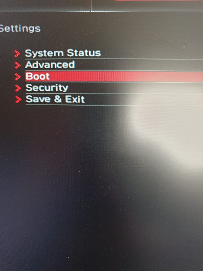 How to change boot priority in BIOS