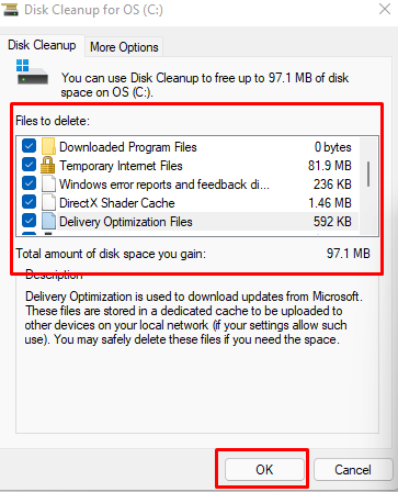 How to clean up disks in Windows 11 (part 2)